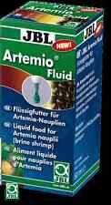 JBL Artemio Fluid - Liquid food for Brine Shrimp nauplii - 50ml