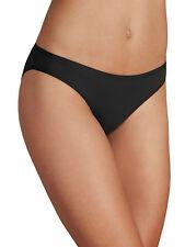 M&S Talla 12 Negro Modal Mezcla de Algodón sin Costuras Braguita Bikini