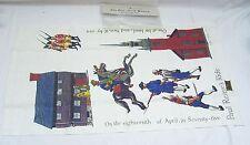 Souvenir Torchon-Paul Revere's ride-Kay Dee Empreintes/Robert Hughes
