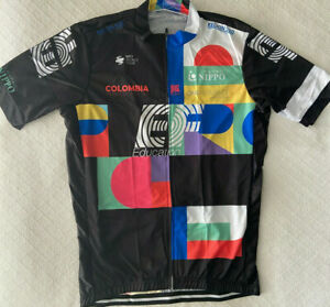 """EDUCATION FIRST TEAM CYCLING JERSEY XL NEW 42"""" FREE SHIPPING !!"""