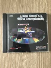 NIGEL MANSELL'S WORLD CHAMPIONSHIP F1 AMIGA CD32 CD 32 COMPLET RARE