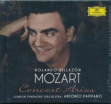 Rolando Villazon London Symphony Antonio Pappano Mozart Concert Arias CD NEW