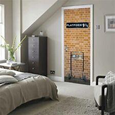 Harry Potter affiche 77x200cm Quai 9 3/4 porte chambre vinyle stickers autocolla