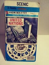 Vintage UNITED NATIONS VIEW-MASTER Reels NEW Factory Sealed
