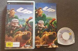 Disney Pixar Up PSP Playstation Portable Game Free Postage