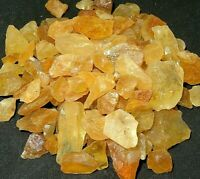 Grade A+ Rough Citrine Chunks, Raw Citrine Healing Crystals,Wholesale Bulk Lot