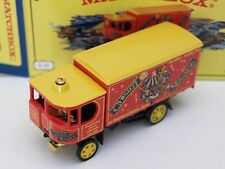 Matchbox Yesteryear Y37 Garrett SW,Chester Mystery Plays.1 of 3,500.
