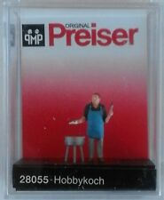 Preiser 28055 Amateur Cook 00/H0 Model Railway Figure