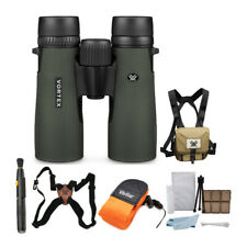 Vortex 10x42 Diamondback HD Binoculars with GlassPak + Harness and Accessory Kit
