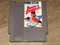 Bases Loaded 3 Nintendo Nes Cleaned & Tested Authentic