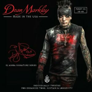 Dean Markley DJ Ashba Signature Series Nickel Electric Guitar Strings 10-48 Set