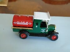 MATCHBOX YESTERYEAR PRE PRO DECALS FORD T TANKER MOBILOIL GREEN BODY EXEMPLOYEE
