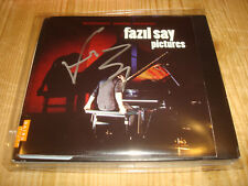 Signed Signiert FAZIL SAY Mussorgsky Pictures at an Exhibition NAIVE CD DVD NEW