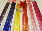 60 pieces Pull Flower Ribbon Bows 6 Colors