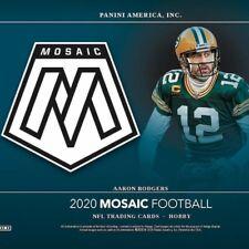 2020 Mosaic Football #1-300 Base Veterans, Rookies, Legends Pick Your Card