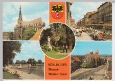 (102030) AK Mühlhausen (Thür.), Mehrbildkarte 1986