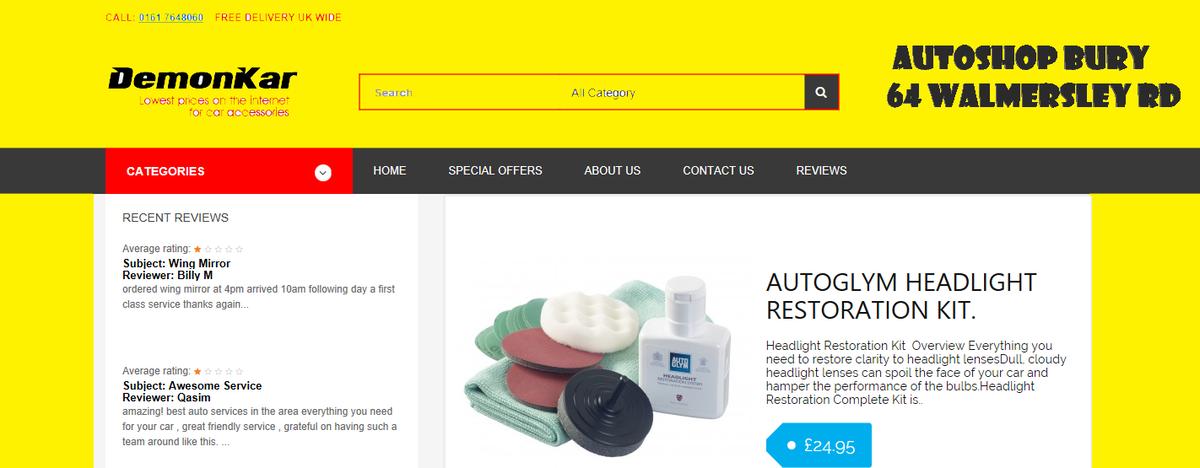 Autoshop Bury U.K | eBay Stores