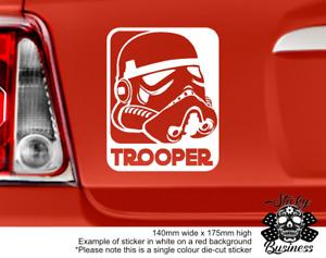 Star Wars Sticker Storm Trooper Skywalker Empire Jedi Car Bedroom Wall 34 COLOUR