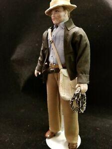 "1:12 scale Dollhouse Doll Artist created! ""Indiana Jones"" By P. Stinson OOAK"