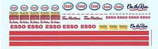 Esso Gas Station Decal Set