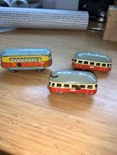 Blechspielzeug Züge Busse  ? Technofix ?