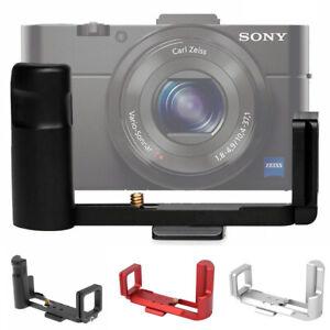 Aluminum Camera L Bracket Hand Grip Holder Plate for Sony RX100 III IV V VI VII