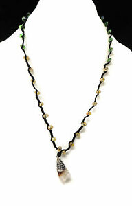 Tibetan Necklace Crystal Repoussee Adjustable SALE WAS $29.00