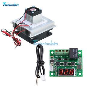 12V 60W Semiconductor Refrigeration Peltier Cooler Air Cooling Radiator DIY Kit