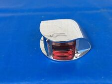"1960s Attwood 6250 BIG 7"" Marine Red Blue Boat Bow Light LARSON SEA-KING ALPEX"