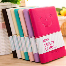 School Planner Diary Memo Notebook Cute Charming Portable Smile Smiley Notebooks