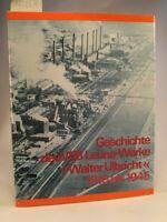Geschichte des VEB Leuna-Werke Walter Ulbricht: 1916 bis 1945 Streller, Karl-Hei