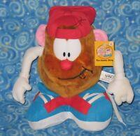 "New Mr. Potato Head The Comic Strip 2001 Hasbro NANCO Potato Jr. Spud Plush 10"""