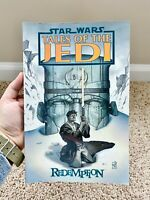 VGC 1st Edition Star Wars: Tales of the Jedi - Redemption TPB Like New Condition