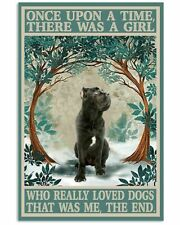Cane Corso Once Upon A Time Poster Art Print Decor For Home