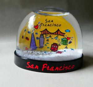 The City San Francisco Snow Globe, Souvenir Water Globe - I Left My Heart