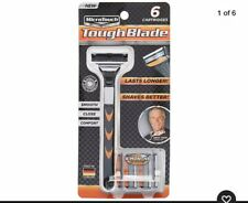 Triple-Blade Razor with 6 Refill Cartridges A Clean, Close Comfortable Shave