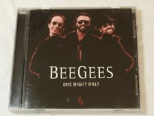 One Night Only by Bee Gees CD 1998 Polygram Records Jive Talkin' Grease x