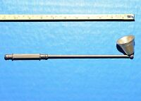 Vintage Large Brass Swivel Head  Candle Snuffer