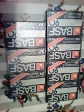 7 stück, leere BASF chromdioxid  ii sm cassette 90 (mk16)