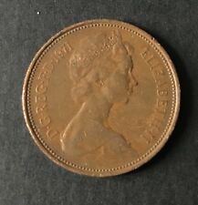 A Rare, 1p new penny coin 1971, not One Pence as is common.
