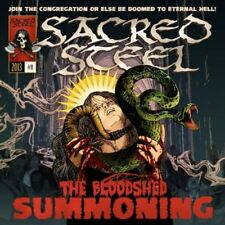 Bloodshed Summoning - Sacred Steel (2013, CD NEUF)