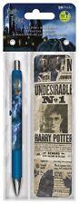 HARRY POTTER - GEL PEN & BOOKMARK - BRAND NEW - MOVIE 3585