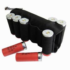Tactical Butt Stock 8 Shells Black 12ga 20ga Shotgun Buttstock Holder