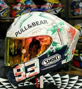 X14 X SPIRIT 3 MOTORCYCLE FULL FACE HELMET MOTO GP 93 MARC MARQUEZ PAINTING ANT
