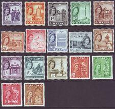 Malta 1956 SC 246-262 MH Set