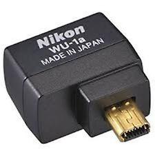 Brand Nikon WU-1a WU1A Wi-Fi Wireless Mobile Adapter D3300 D5200 D7100 P7800 Df