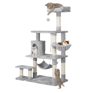 "Deluxe 62"" Cat Tree Tower Condo Furniture Scratching Post Kitten Pet Play House"