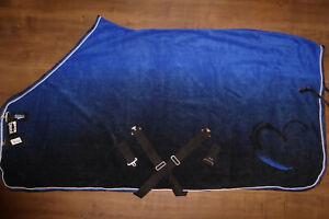 ESKADRON Abschwitzdecke FADE, 145cm L, royalblue, blau Next Generation HW15 NEU!