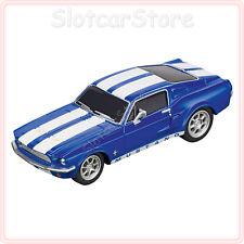 "Carrera GO 64146 Ford Mustang `67 ""Racing Blue"" 1:43 Slotcar Auto GO Plus"