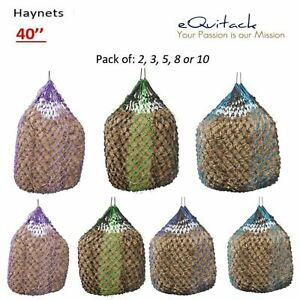 Trickle Haynet Feed Haylage Small Holes Hay Net Large Durable 40'' Set Buy